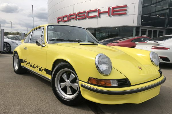 Yellow 911 in Car Storage