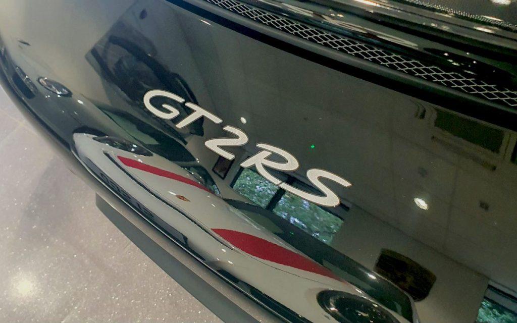 Porsche GT2RS in Car Storage